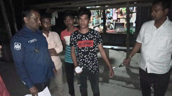 বানারীপাড়ায় ১০ গ্রাম গাজাঁ সহ মাদকসেবী অপু আটক