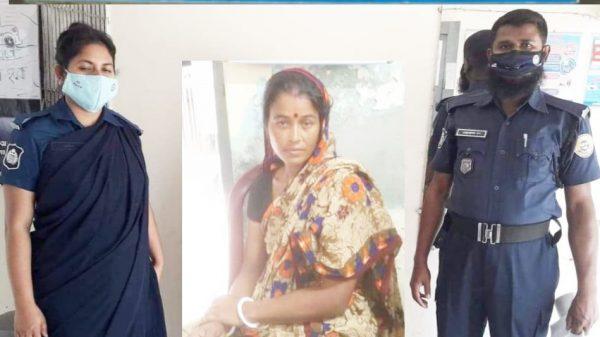 আগৈলঝাড়ায় গাঁজাসহ নারী মাদক ব্যবসায়ী গ্রেফতার